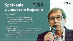 Przyczajony geniusz – Spotkanie z Januszem Gajosem